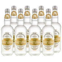 Fentimans Premium Indian Tonic Water 8 x 500 ml glass bottles - London Grocery - Online Grocery Shopping