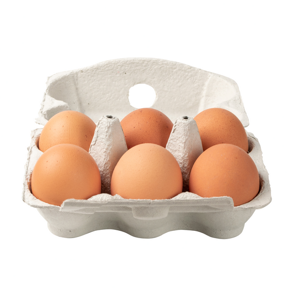 Free-range Eggs 6 pack - London Grocery - Online Grocery Shopping