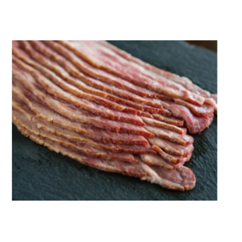 Frozen Halal Beef Bacon 500gr-London Grocery