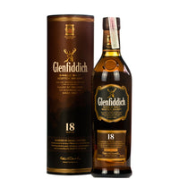 Glenfiddich 18 Year Old Single Malt Scottish Whisky 60cl - London Grocery - Online Grocery Shopping