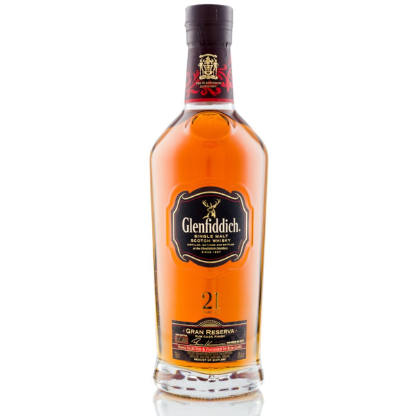 Glenfiddich 21 Year Old Single Malt Scottish Whisky - 70cl - London Grocery - Online Grocery Shopping
