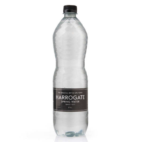 Harrogate Still Spring Water 1 lt Glass x 12 - London Grocery - Online Grocery Shopping