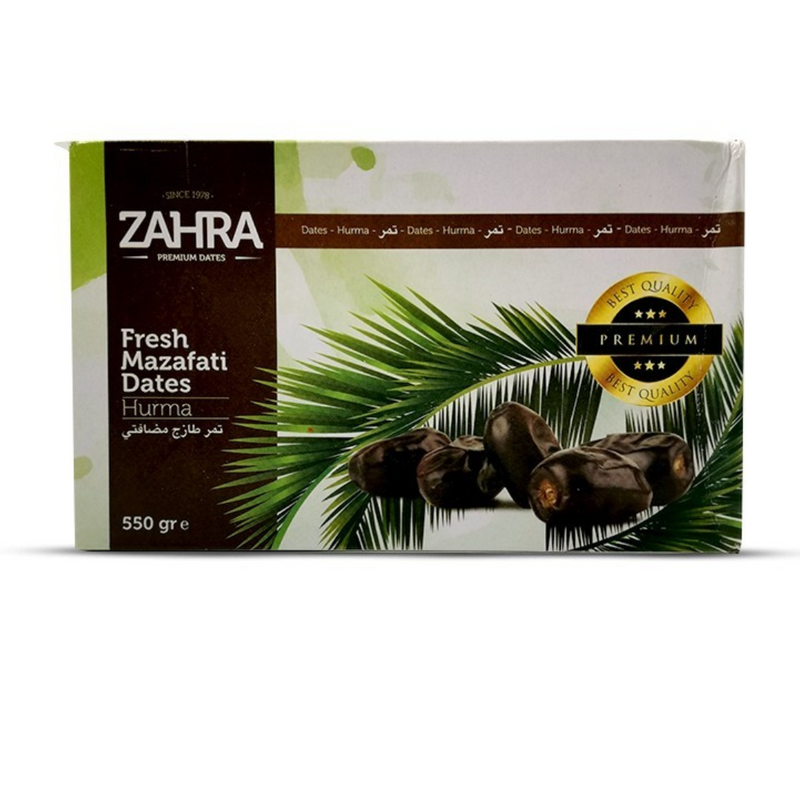 Zahra Mazafati Dates (Hurma) 550gr -London Grocery