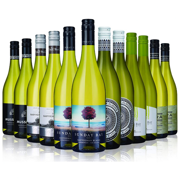 New Zealand Sauvignon Blanc Mix - 12 Bottles (75cl) - London Grocery - Online Grocery Shopping