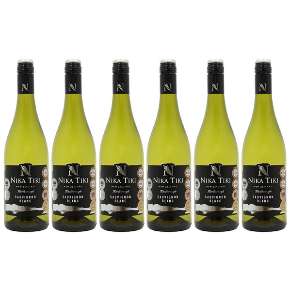 Nika Tiki Sauvignon Blanc White Wine, 75 cl, Case of 6 - London Grocery