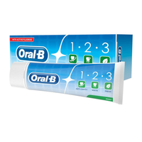 Oral-B 123 Fresh Mint Toothpaste 75ml - London Grocery - Online Grocery Shopping