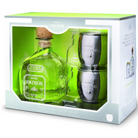 Patron Silver Tequila Jalisco Mule Cocktail Gift Pack, 70 cl - London Grocery