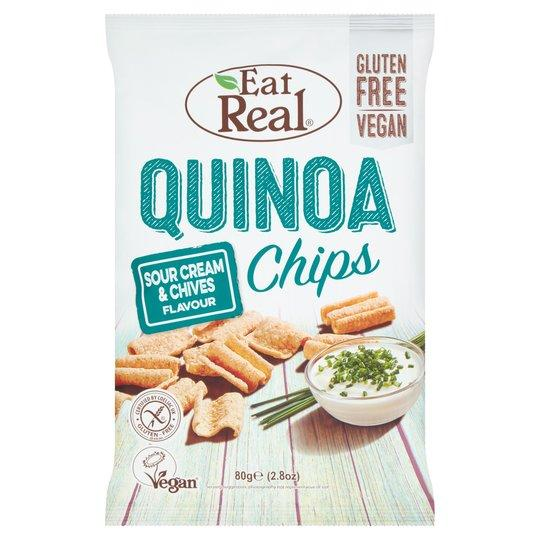 Eat Real Quinoa Sour Cream & Chive - London Grocery - Online Grocery Shopping