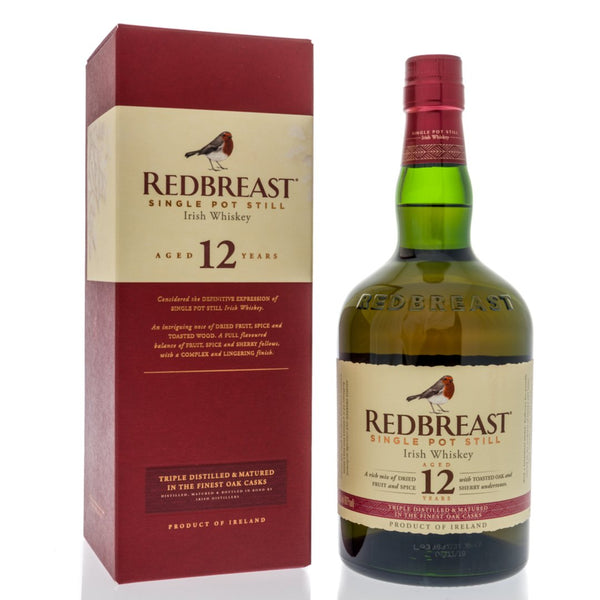 Redbreast 12 Year Old Single Pot Still Irish Whisky 70cl - London Grocery