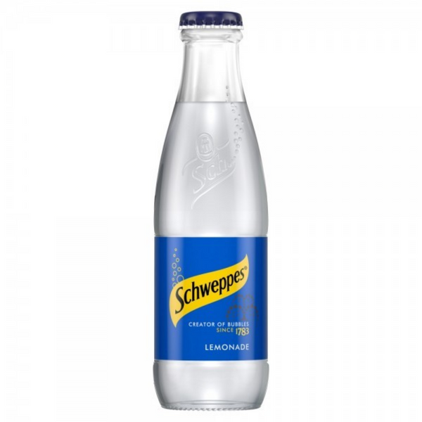 Schweppes Lemonade Glass 200 ml - London Grocery - Online Grocery Shopping
