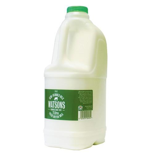 Semiskimmed Milk 2 lt - London Grocery - Online Grocery Shopping