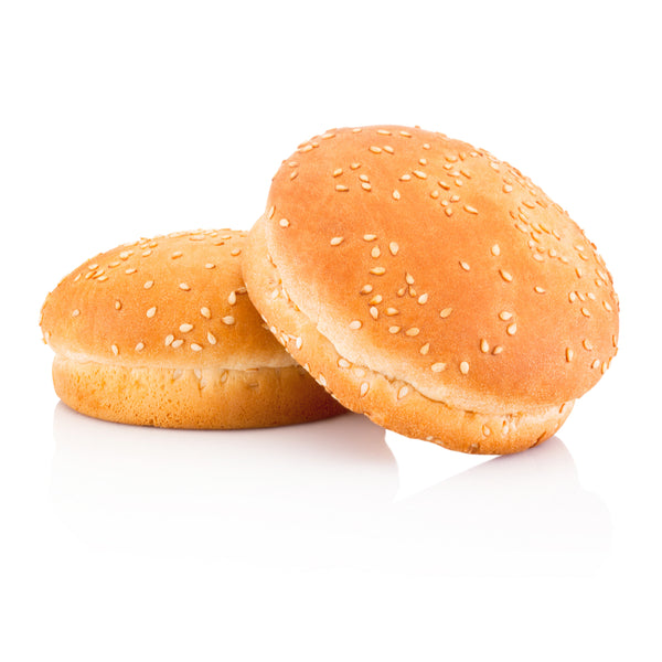 Sesame Burger Brioche Buns 6 pcs per bag - London Grocery