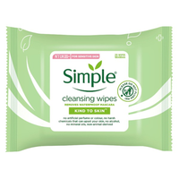 Simple Face Wipes Cleansing 25 wipes - London Grocery - Online Grocery Shopping