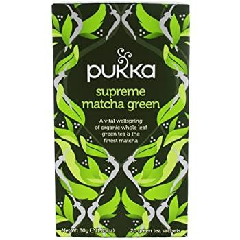 Pukka Supreme Green Matcha 20 Bags - London Grocery - Online Grocery Shopping
