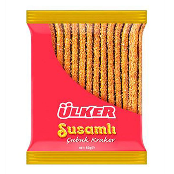 Sesame Pretzel Sticks / Susamli Cubuk Kraker - London Grocery - Online Grocery Shopping