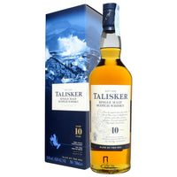 Talisker 10 Years Old Single Malt Scotch Whisky 70 cl - London Grocery - Online Grocery Shopping