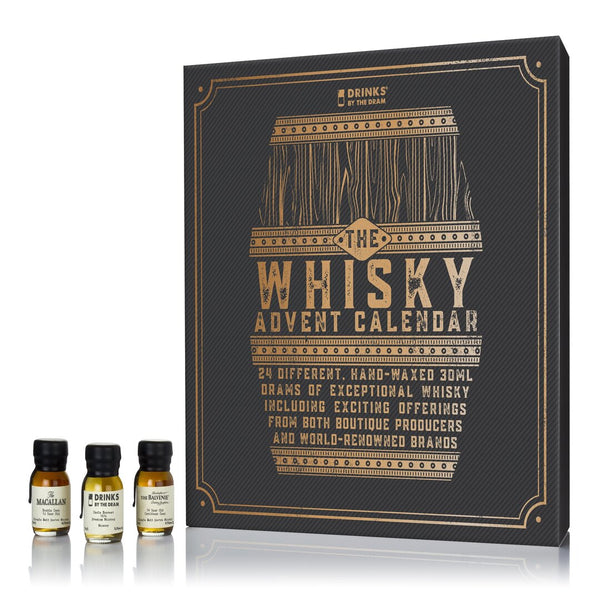 Drinks by the Dram, The Whisky Advent Calendar, 24 x 30ml drams (2020 Edition) - London Grocery - Online Grocery Shopping