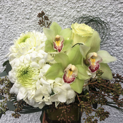 Cube Arrangement - Limelight Floral Design