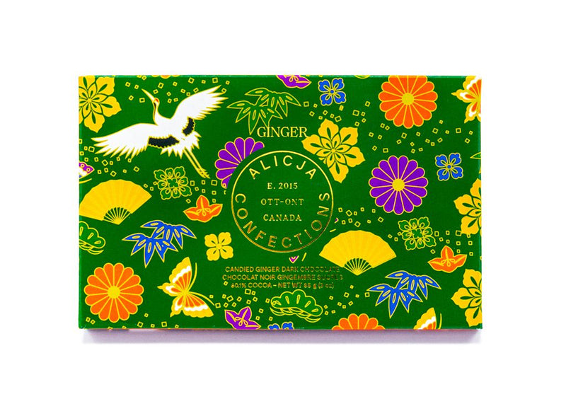 Alicja Chocolate Bar - Ginger