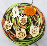 Katrinkles Stitch Markers of the Month - October