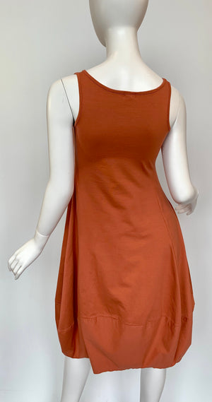 Sleeveless Tulip Dress (Two color options)