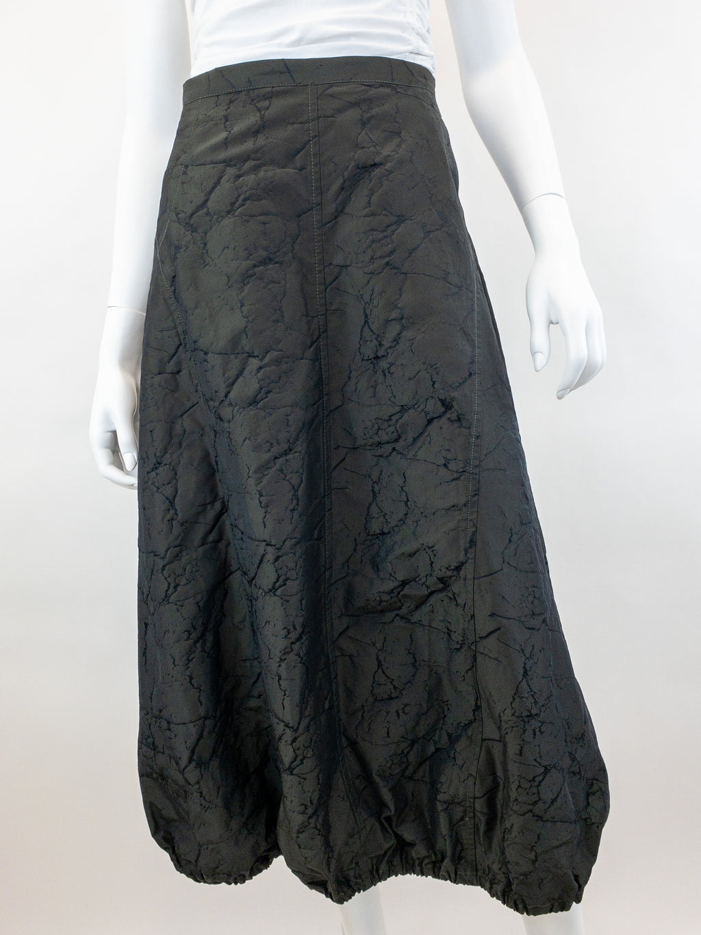 Granite Bubble Skirt