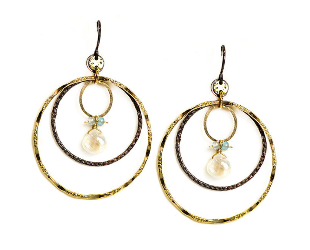 Triple Chandelier Earring