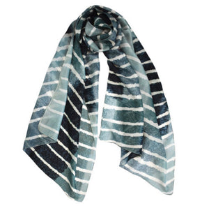 Freeform Silk Scarf