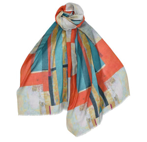 Abstract Scarf (2 color options)