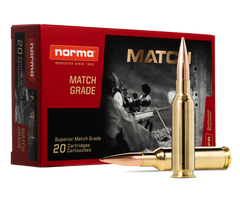 Norma 6.5 Creedmoor HPBT Match Ammunition
