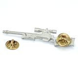 Accuracy International - Lapel Pin AW Rifle