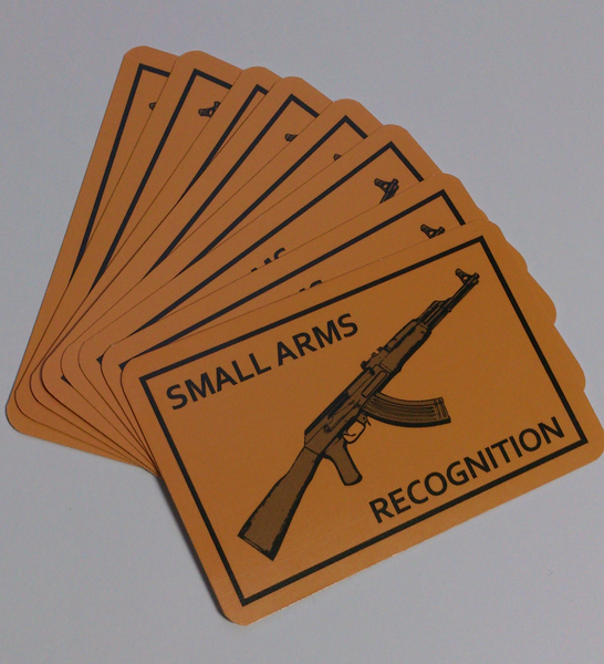 Small Arms Recognition Playing Cards