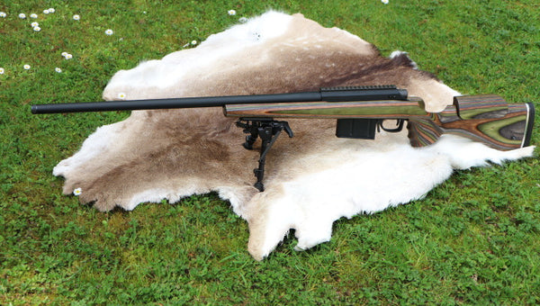"Sporting Services ""Nimrod"" Rifle - GRS laminated stock."