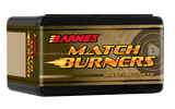 "Barnes Match Burner 6.5mm .264"" 140gr Match Bullets"