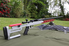 F Class Target Rifle with Accuracy International Single Shot Action