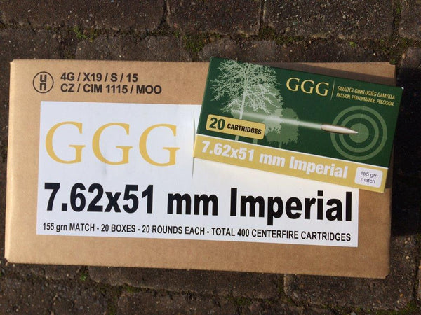"7.62 x 51mm (.308 Win) ""Imperial""  Target Ammunition"