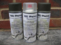 EC-Paint Removable Equipment Camouflage Paint
