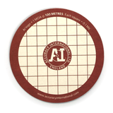 Accuracy International - Target Coaster / Beer Mat