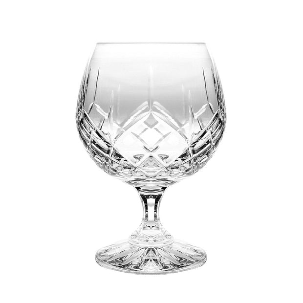 European Cut Crystal Snifter - Cocktail - Brandy - Sherry Glasses - 20 Oz. -Oversized-  Gift Boxed