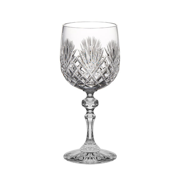 European Cut Crystal Red / White Wine Goblet - 11 Oz. - Set of 6