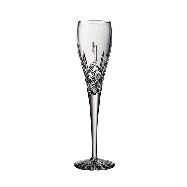 European Cut Crystal Tall Toasting Champagne Flutes - 6 Oz. - Set of 4