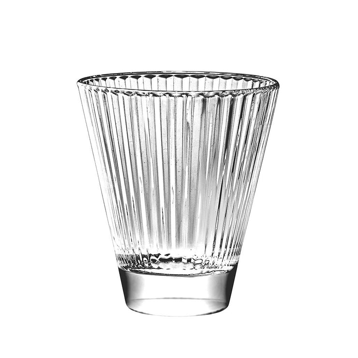 European Lead Free Crystalline Double Old Fashioned Tumblers - 10.5 oz., Set of 6