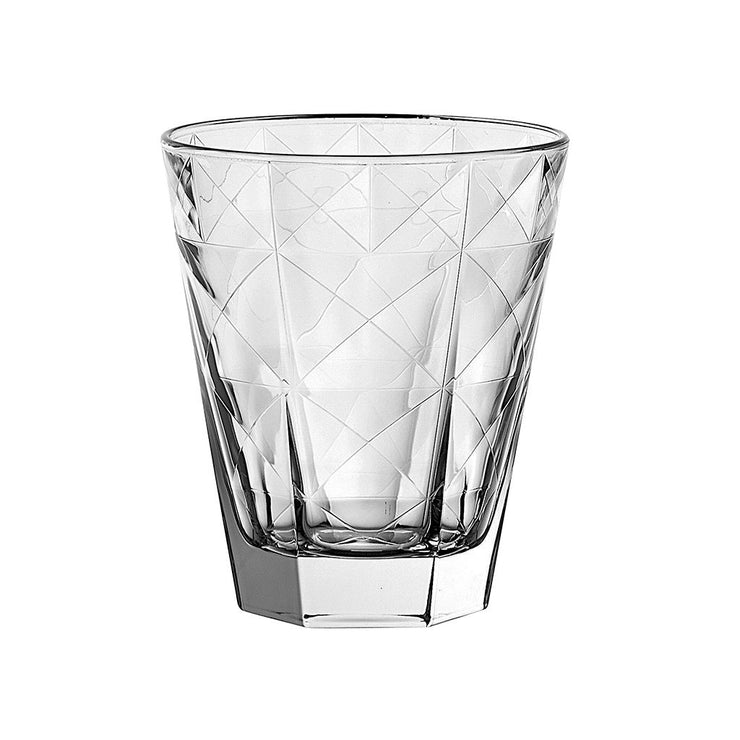 European Lead Free Crystalline Double Old Fashioned Tumblers - 11.5 oz., Set of 6