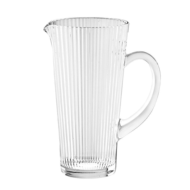 "European Lead Free Crystalline Pitcher W/ Handle W/ Spout- 40 oz., 8.7"" Height"