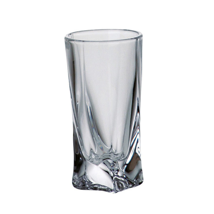 European Lead Free Crystalline Whiskey Shot Glasses - 1.85 oz., Set of 6
