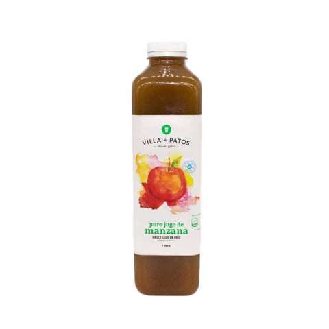 Jugo de manzana cold press 1lt