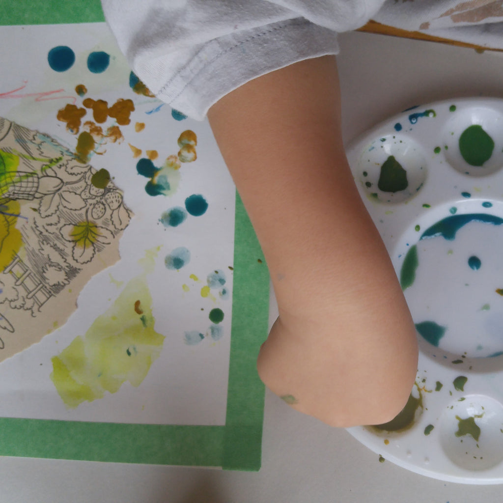 Early Art Explorers – class A (Fall 2018 / ages 2-3 with 1 caregiver)