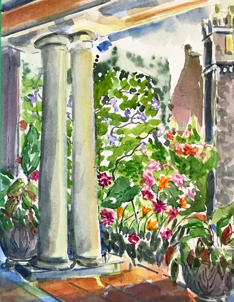 Charlotte Bell, Italian Gardens at Hatley Castle, Victoria