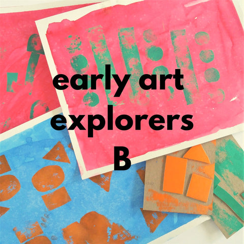 Early Art Explorers - class B (Spring 2019 | ages 2-3 with 1 caregiver)