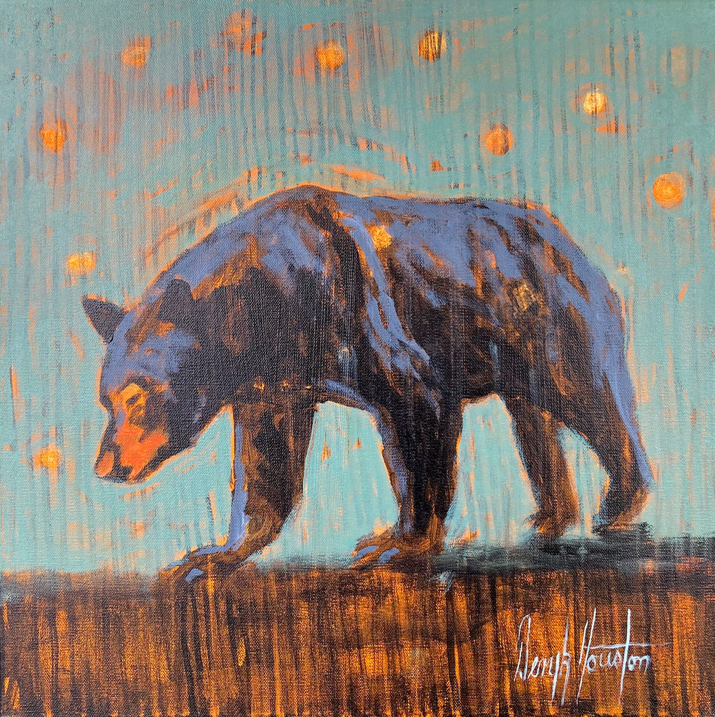 Deryk Houston, Bear Outside Tent